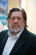 English actor, comedian and activist Ricky Tomlinson, pictured at the Manchester Central Convention Complex during the Labour Party's annual conference. The conference was the last to be held before the 2015 UK General Election. Tomlinson campaigned for justice for himself and fellow trade unionists jailed in the 1970s following an industrial dispute.