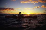 Kayaking, Kauai, Hawaii<br />