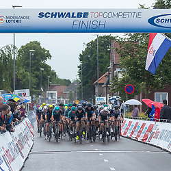VELDHOVEN (NED) July 4 <br /> CYCLING <br /> The first race of the Schwalbe Topcompetition the Simac Omloop der Kempen<br /> VolkerWessels op kop peloton