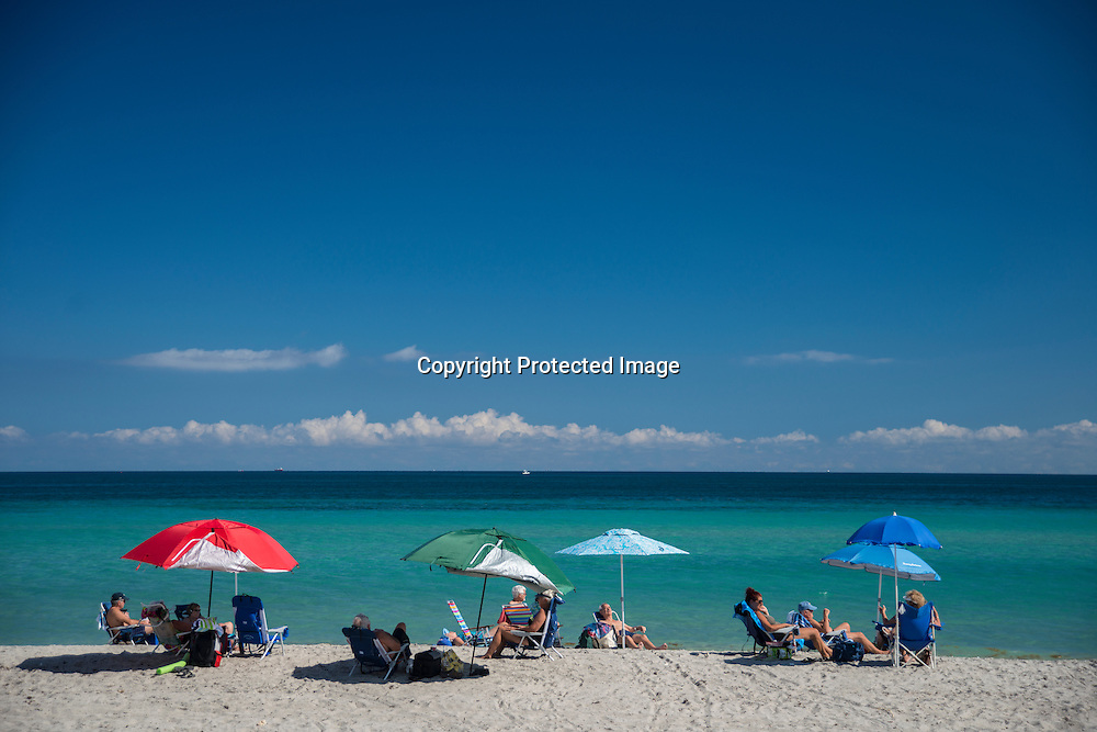A sunny afternoon at South Beach Bar and Grill on Boca Grande Island on the Gulf Coast of Florida.