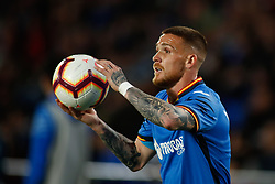 March 9, 2019 - Getafe, MADRID, SPAIN - Antunes of Getafe CF during the spanish league, La Liga, football match played between Getafe CF and SD Huesca at Butarque Stadium in Getafe, Madrid, Spain, on March 9, 2019. (Credit Image: © AFP7 via ZUMA Wire)