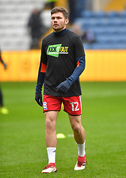 Birmingham City's Harlee Dean warms up ahad of the match