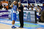DESCRIZIONE : Capo dOrlando Lega A BEKO 2015-16 Betaland Orlandina Basket Banco di Sardegna Sassari  <br /> GIOCATORE :  Marco Calvani<br /> CATEGORIA :  Head Coach Delusione David Logan<br /> SQUADRA : Betaland Upea Capo dOrlando <br /> EVENTO : Campionato Lega A BEKO 2015-2016 <br /> GARA : Betaland Orlandina Basket Banco di Sardegna Sassari<br /> DATA : 30/11/2015<br /> SPORT : Pallacanestro <br /> AUTORE : Agenzia Ciamillo-Castoria/G. Pappalardo <br /> Galleria : Lega Basket A BEKO 2015-2016 <br /> Fotonotizia : Capo dOrlando Lega A BEKO 2015-16 Betaland Orlandina Basket Banco di Sardegna Sassari