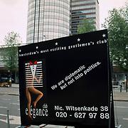 Club Elegance Amsterdam protestactie Eurotop