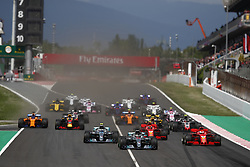 May 13, 2018 - Barcelona, Catalonia, Spain - May 13th, 2018 - Circuit de Barcelona-Catalunya, Montmelo, Spain - Race of Formula One Spanish GP 2018; Start of the Spanish GP. (Credit Image: © Eric Alonso via ZUMA Wire)