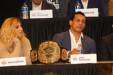 Press conference of professional fighters league - 28 December 2018