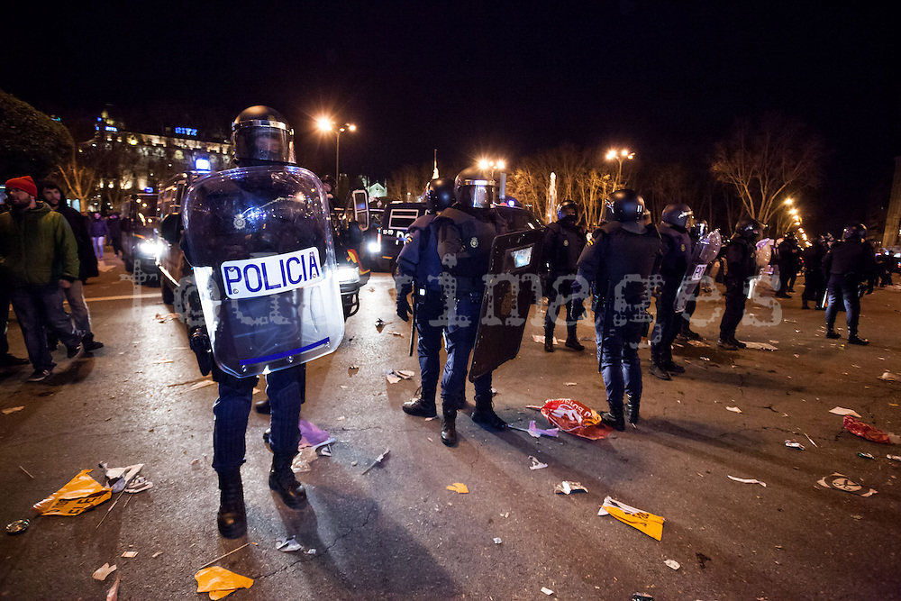 """23F: """"Citizens' tide"""" against austerity in Madrid, Spain"""