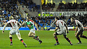 Reading, GREAT BRITAIN,  Mike CATT, looking for the gap,  during the third round Heineken Cup game, London Irish vs Ulster Rugby, at the Madejski Stadium, Reading ENGLAND, Sat 09.12.2006. [Photo Peter Spurrier/Intersport Images]