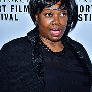Verona Rose, attend TriForce Short Festival, on 30 November 2019, at BFI Southbank, London, UK.