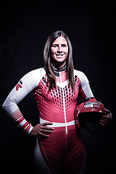 12.10.2019, Olympiahalle, Innsbruck, AUT, FIS Weltcup Ski Alpin, im Bild Ricarda Haaser // during Outfitting of the Ski Austria Winter Collection and the official Austrian Ski Federation 2019/ 2020 Portrait Session at the Olympiahalle in Innsbruck, Austria on 2019/10/12. EXPA Pictures © 2020, PhotoCredit: EXPA/ JFK
