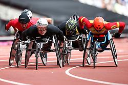 22.07.2017, Olympia Stadion, London, GBR, Leichtathletik WM der Behinderten, im Bild Marcel Hug (SUI, T54) // Marcel Hug (SUI, T54) // during the World Para Athletics Championships at the Olympia Stadion in London, Great Britain on 2017/07/22. EXPA Pictures © 2017, PhotoCredit: EXPA/ Eibner-Pressefoto/ Eibner-Pressefoto<br /> <br /> *****ATTENTION - OUT of GER*****