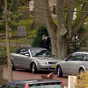 NLD/Driehuis/20060408 - Uitvaart Frederique Huydts, Albert den Iseger