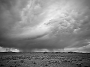 Summer storm in southern New Mexico