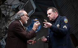 The Price <br /> by Arthur Miller <br /> 50th anniversary production presented by Theatre Royal Bath Productions and Jonathan Church Productions<br /> <br /> Wyndham's Theatre, <br /> London Great Britain <br /> Press photocall <br /> 7th February 2019 <br />  <br /> David Suchet as Gregory Solomon <br /> Brendan Coyle as Victor Franz <br /> <br /> <br /> Photograph by Elliott Franks