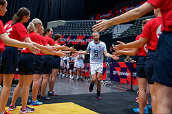 13-09-2019 NED: EC Volleyball 2019 Estonia - Poland, Rotterdam<br /> First round group D - poland win 3-1 / Kert Toobal #5 of Estonia