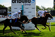 Tilly Tamworth ridden by Franny Norton and trained by Rod Millman in the Visit Valuerater.Co.Uk Nursery Handicap race. Mai Diva ridden by Ben Robinson and trained by John Quinn in the Visit Valuerater.Co.Uk Nursery Handicap race.  - Ryan Hiscott/JMP - 15/09/2019 - PR - Bath Racecourse - Bath, England - Race Meeting at Bath Racecourse