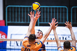 during 3rd Leg of Volleyball match between ACH Volley and OK Merkur Maribor in Final of 1. DOL League 2020/21, on April 20, 2021 in SD Tabor, Maribor, Slovenia. Photo by Blaž Weindorfer / Sportida