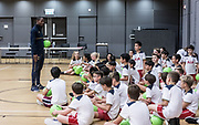 Tottenham Hotspur F.C held a Coaching Session on 24 May 2017 at Kellett School Kowloon, HONG KONG.<br /> Photo by MozImages.