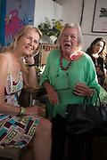 PHILIPPA WALKER; LYNN BARBER, Rachel Johnson book launch of Fresh Hell, Acklam Village Market, Acklam Rd. London W10.