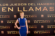 111313 'The Hunger Games: Catching Fire' Madrid Photocall