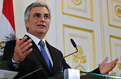 21.06.2011, Bundeskanzleramt, Wien, AUT, Ministerrat, im Bild Bundeskanzler Werner Faymann // during the council of ministers, Office of the Federal Chancellor, Vienna, 2011-06-21, EXPA Pictures © 2011, PhotoCredit: EXPA/ M. Gruber