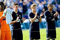Fotball , 20. mai 2012, Tippeligaen Eliteserien<br /> Stabæk - Haugesund<br /> Ett minutts applaus før kamp, til minne om Tor Marius Gromstad<br /> Foto: Sjur Stølen , Digitalsport