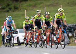 12.07.2019, Kitzbühel, AUT, Ö-Tour, Österreich Radrundfahrt, 6. Etappe, von Kitzbühel nach Kitzbüheler Horn (116,7 km), im Bild Team Neri Sottoli - Selle Italia - KTM, ITA // Team Neri Sottoli - Selle Italia - KTM of Italy during 6th stage from Kitzbühel to Kitzbüheler Horn (116,7 km) of the 2019 Tour of Austria. Kitzbühel, Austria on 2019/07/12. EXPA Pictures © 2019, PhotoCredit: EXPA/ Reinhard Eisenbauer