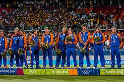 27-08-2004 GRE: Olympic Games day 15, Athens<br /> Hockey finale mannen Nederland - Australie 1-2 / Oranje
