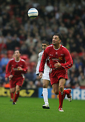 LIVERPOOL, ENGLAND - SUNDAY MARCH 27th 2005: Liverpool Legends' John Aldridge during the Tsunami Soccer Aid match at Anfield. (Pic by David Rawcliffe/Propaganda)