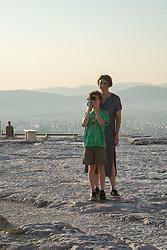 Max and Alex, Acropolis, Athens, Greece
