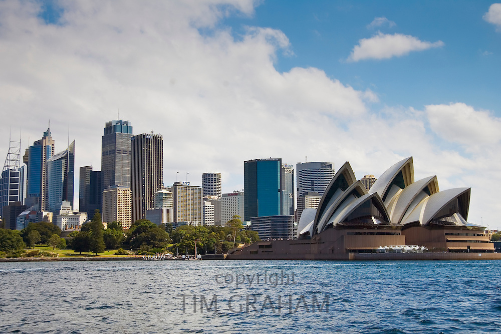 Sydney Opera House and skyline, Australia