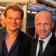NLD/Amsterdam/20101128 - Opening Delamar theater, leco Zadelhof en partner Rob Sintenie