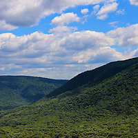 """""""Highland Peace and Serenity""""<br /> <br /> Scenic Laurel Highlands in Ohiopyle PA.<br /> <br /> Beautiful mountains and valleys on a lovely summer day!!<br /> <br /> Landscapes by Rachel Cohen"""
