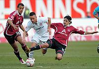 v.l. Timothy Chandler, Deniz Naki (St. Pauli), Almog Cohen<br /> <br /> Bundesliga<br /> , 1. FC Nürnberg - FC. St. Pauli<br /> <br /> Norway only