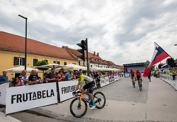 Phil BAUHAUS of BAHRAIN VICTORIOUS during 2nd Stage of 27th Tour of Slovenia 2021 cycling race between Zalec and Celje (147 km), on June 10, 2021 in Slovenia. Photo by Vid Ponikvar / Sportida