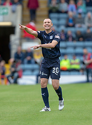 Dundee's Kenny Miller. half time : Dundee 0 v 0 Motherwell, SPFL Ladbrokes Premiership game played 1/9/2018 at Dundee's Kilmac stadium Dens Park