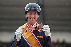Hosmar Frank, (NED)<br /> Para Dressuur Finale<br /> Dutch Championship Dressage - Ermelo 2015<br /> © Hippo Foto - Dirk Caremans<br /> 19/07/15
