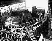 "ackroyd-14265-1-OPS. ""Gunderson Bros. Engine room progress 40 car ferry. November 16, 1966"""