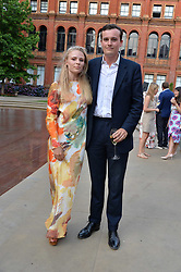 Freddie Coleridge, Chelmmie Nicholson at the V&A Summer Party 2017 held at the Victoria & Albert Museum, London England. 21 June 2017.<br /> Photo by Dominic O'Neill/SilverHub 0203 174 1069 sales@silverhubmedia.com