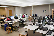 Missouri MO USA, University of Missouri in Columbia Students working in a computer room