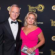 NLD/Amsterdam/20191009 - Uitreiking Gouden Televizier Ring Gala 2019, Jaap Jongbloed en partner