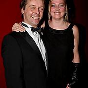 NLD/Zaandam/20081207 - Premiere Op Hoop van Zegen, Peter Lusse en partner Kirsten Jeurissen