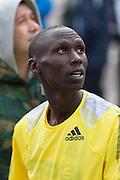 Francis Kiprop winner of the 2013 Madrid Marathon