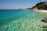Kloni Gouli Beach on the island of Paxos, The Ionian Islands, The Greek Islands, Greece, Europe