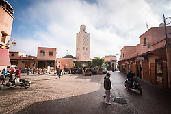 11 January 2018, Marrakesh, Morocco: The Marrakesh Medina, listed as a UNESCO World Heritate site, forms an old fortified city centre of narrow streets, shops and vendor stalls. The city of Marrakesh was founded in 1070-1072, and has long been a political, economic and cultural centre.