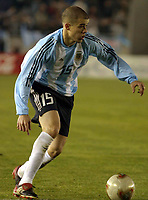 Fotball<br /> 16.07.2003<br /> Argentina v Uruguay<br /> Andres D'Alessandro - Argentina<br /> Foto: Agenpress/Digitalsport<br /> NORWAY ONLY
