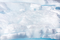 Stunning ice scenery in Antarctica