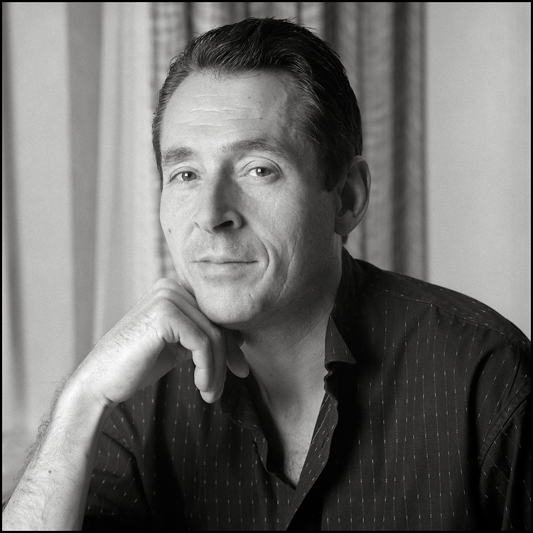 Paul Landry Monette (October 16, 1945 – February 10, 1995) was an American author, poet, and activist best known for his essays about gay relationships. His 1992 memoir, Becoming a Man: Half a Life Story, tells of his life in the closet before coming out. Becoming a Man won the 1992 National Book Award for Nonfiction. Monette died of AIDS in 1995.  Photographed in New York City in 1991.