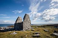 St. Benan's Church, Inishmore, Connemara, Ireland