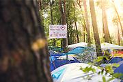 Helene Beach Festival 2018, Helenesee, Frankfurts Oder, 27.07.2018<br /> Feature, Helene Fischer-Plakat<br /> © Torsten Helmke